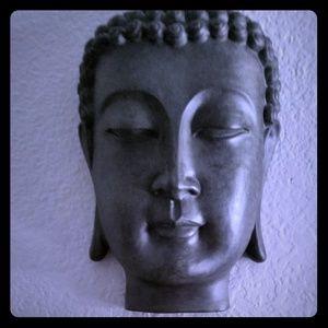 Buddha wall statue